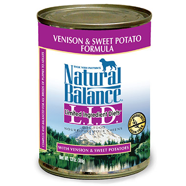L.I.D. Limited Ingredient Diets Venison and Sweet Potato Formula