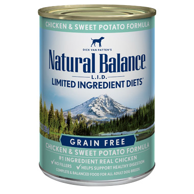 L.I.D. Limited Ingredient DietsSweet Potato and Chicken Formula