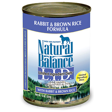 L.I.D. Limited Ingredient Diets Rabbit and Brown Rice Formula