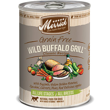 Classic Grain Free Wild Buffalo Grill