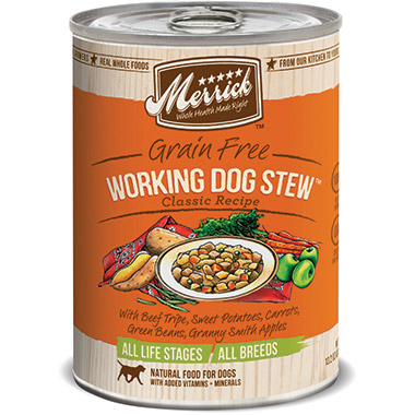 Classic Grain Free Working Dog Stew