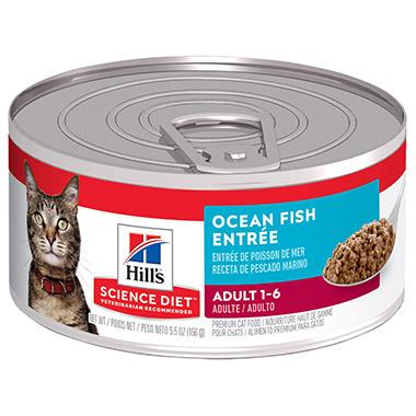 Adult Savory Seafood Entree Minced