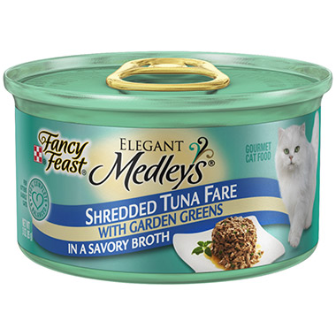 Elegant Medley's Shredded Tuna Fare with Garden Greens