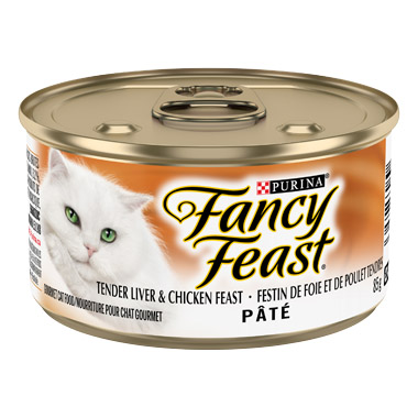 Classic Pate Tender Liver & Chicken Feast