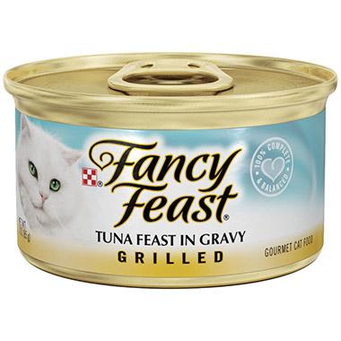 Grilled Tuna Feast in Gravy
