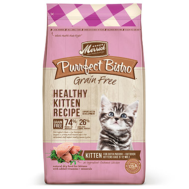 Purrfect Bistro Grain Free Healthy Kitten Food