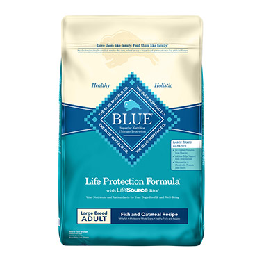 Life Protection Formula Large Breed Adult Natural Fish & Oatmeal Recipe