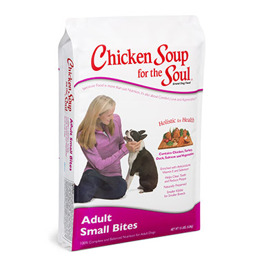 For the Dog Lover's Soul Adult Dog Small Bites Formula