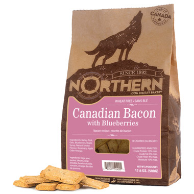 canadian-bacon-with-blueberries-dog-treats