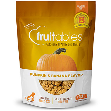 Crunchy Pumpkin & Banana Flavor Dog Treats