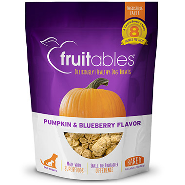 Crunchy Pumpkin & Blueberry Dog Treats