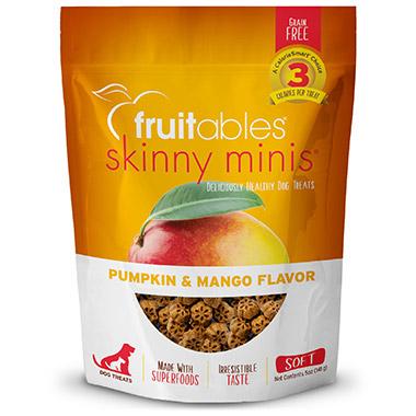 Skinny Minis Chewy Pumpkin & Mango Dog Treats