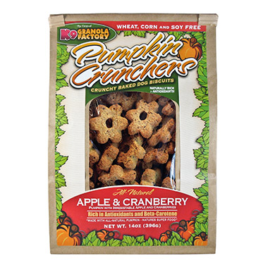 Pumpkin Crunchers Apple & Cranberry