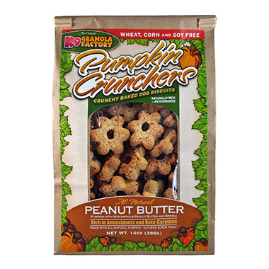 Pumpkin Crunchers Peanut Butter