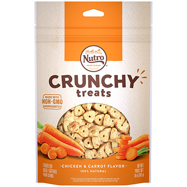 Crunchy Treats - Carrot