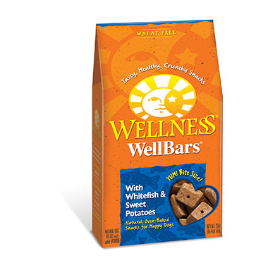 WellBars Fish & Sweet Potatoes