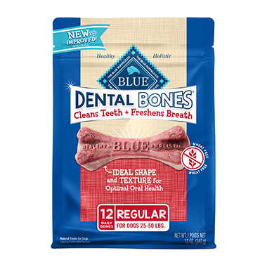 Blue Bones Natural Dental Chew Regular