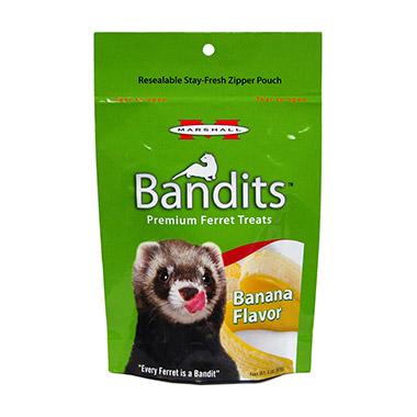 Bandits Premium Ferret Treats Banana Flavor