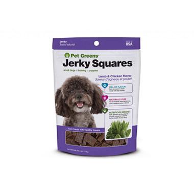 Pet Greens Jerky Treats Lamb and Chicken Recipe