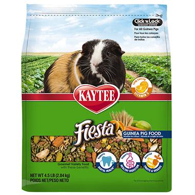 Fiesta Max Guinea Pig Food