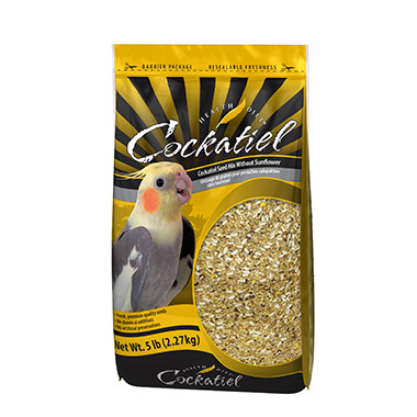 Cockatiel Seed Mix Without Sunflower Seeds
