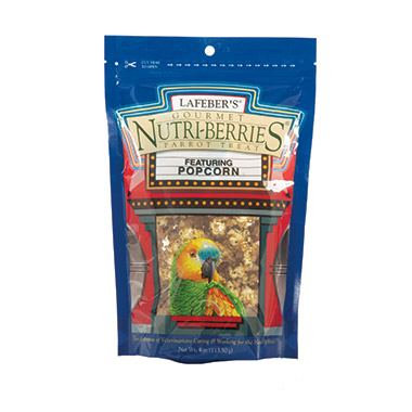 Popcorn Nutri-Berries for Parrots