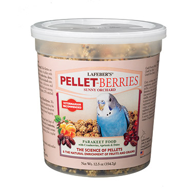Pellet-Berries for Parakeets