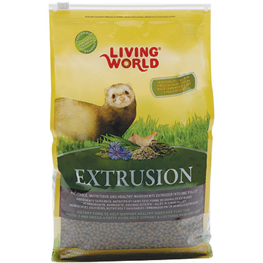 Extrusion Diet for Ferrets