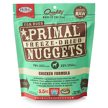 Freeze Dried Nuggets Chicken Formula