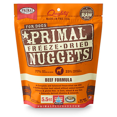 Freeze Dried Nuggets Beef Formula