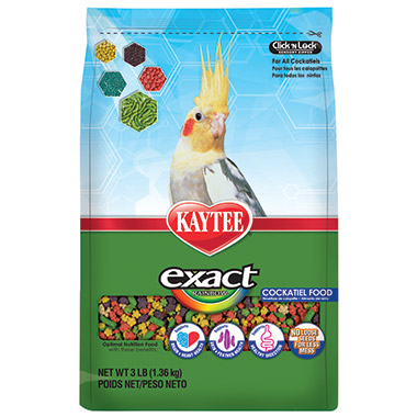 Exact Rainbow Cockatiel Food