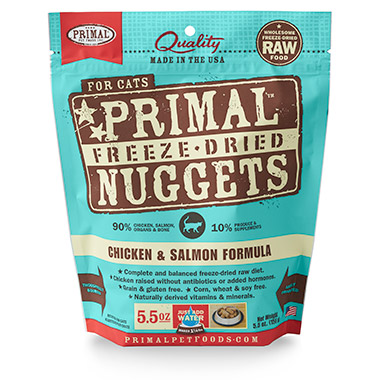 Freeze Dried Nuggets Chicken & Salmon Formula