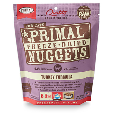 Freeze Dried Nuggets Turkey Formula