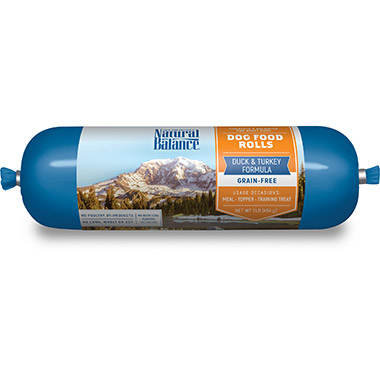 Duck & Turkey Formula Dog Food Roll