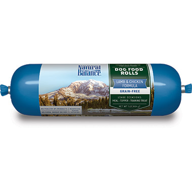 Lamb & Chicken Formula Dog Food Roll