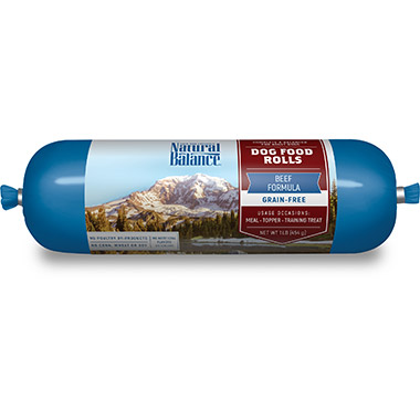 Beef Formula Dog Food Roll