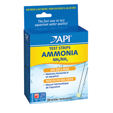 Aquarium Ammonia Test Strips