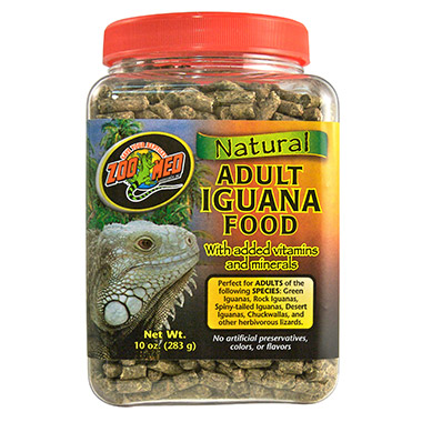 All Natural Adult Iguana Food