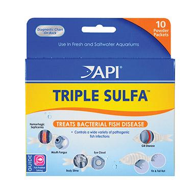 Triple Sulfa Fish Medication