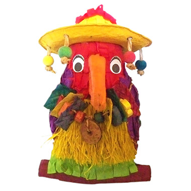 "Pete the Parrota 8"" Pinata"