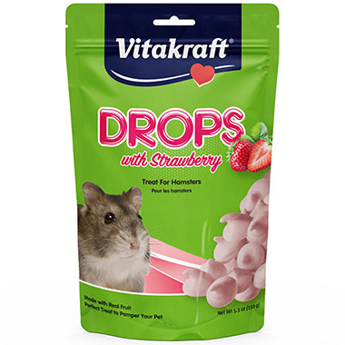 Drops with Strawberry for Hamsters