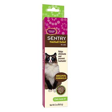 SENTRY Hairball Relief for Cats - Original Formula