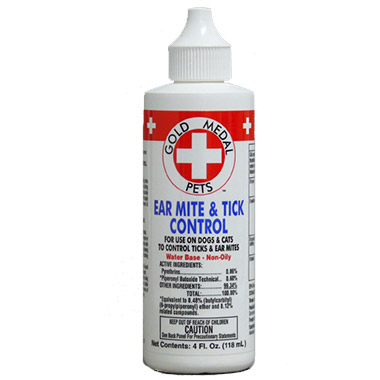 Ear Mite & Tick Control