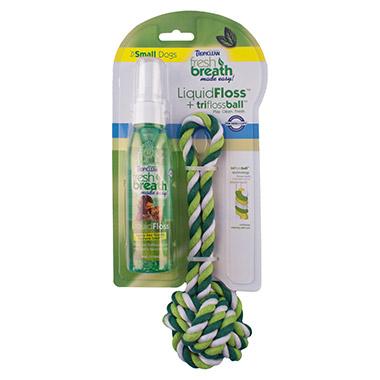 Fresh Breath LiquidFloss Rope Ball Small
