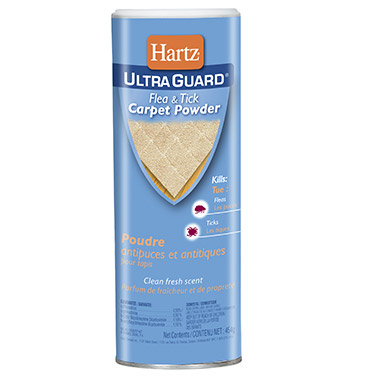 UltraGuard Flea & Tick Carpet Powder