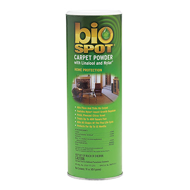 Flea & Tick Carpet Powder