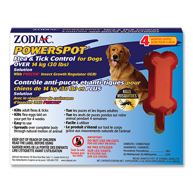Powerspot Flea & Tick Control for Dogs