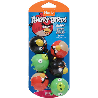 Angry Birds Gone Crazy Cat Toy