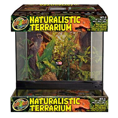 """Naturalistic Terrrarium (18""""x18""""x18"""")"""