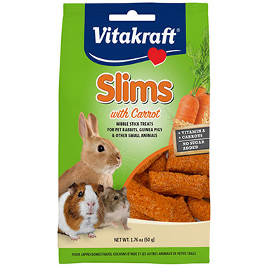 Slims with Carrot for Rabbits